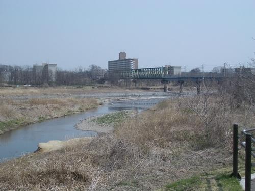 ① 平井川河口