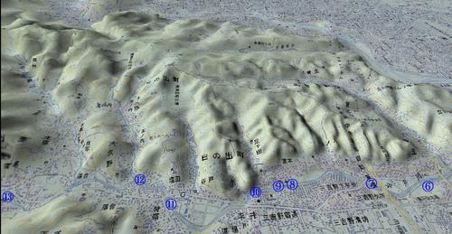 平井川中流MAP