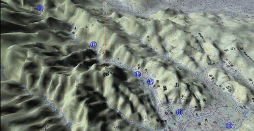 平井川上流MAP