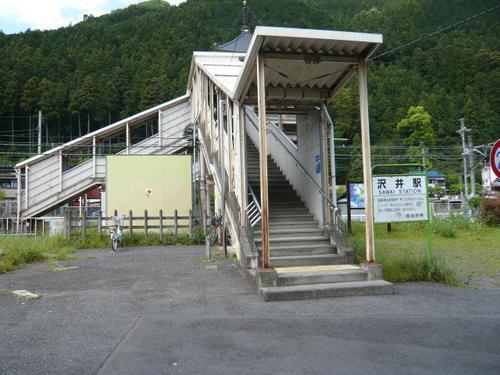 19 沢井駅