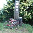 飯盛峠 自転車にて
